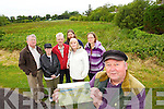 Save the Green comitee are proposing that Cloonbeg in Tralee be preserved as a wildlife wetlands, from left: Eddie Riordan, Mary Hogan, Michael Gaffney, Tony Perry, MArgaret Humpheries and Marie O'Connor in foreground is Tommy Collins Chairman with an artist impression.