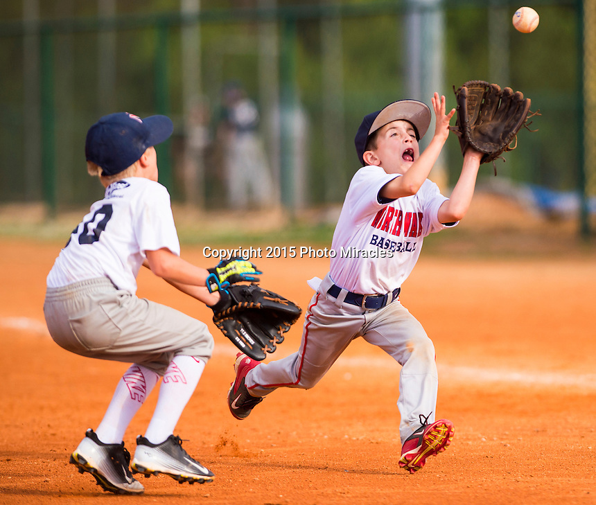 North Wake Baseball<br /> Factory Fields<br /> <br /> ROOKIE<br /> Brewers (blue) v Dodgers<br /> Thursday May 21, 2015