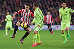 Football match during La Liga with the teams ath. club and fc barcelona in san mames stadium, bilbao<br /> aduriz<br /> PHOTOCALL3000
