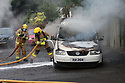 PMCE 15 SEPT 2020 Double west Belfast Cars abandoned and set alight in west Belfast