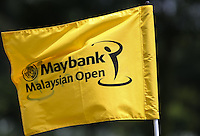 Pin-flag during the preview days of the 2014 Maybank Malaysian Open at the Kuala Lumpur Golf & Country Club, Kuala Lumpur, Malaysia. Picture:  David Lloyd / www.golffile.ie