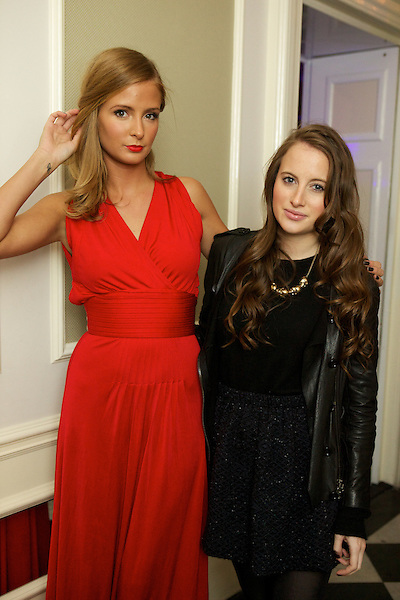 Millie Mackintosh and Rosie Fortescue from Made in Chelsea at The Beulah party at Dorsia, South Kensington, London