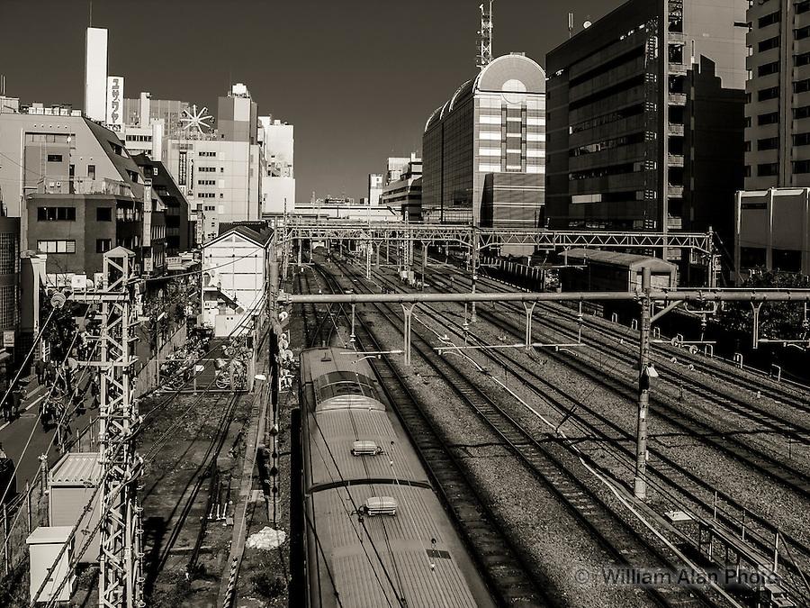 To Kamata Station in Ota, Japan 2014.