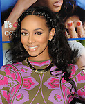 Keri Hilson arriving at the Pan African Film and Arts Festival premiere of About Last Night, held at the Cinerama Dome on February 11, 2014.
