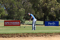 Bradley Neil (SCO) in action on the 10th during Round 3 of the ISPS Handa World Super 6 Perth at Lake Karrinyup Country Club on the Saturday 10th February 2018.<br /> Picture:  Thos Caffrey / www.golffile.ie<br /> <br /> All photo usage must carry mandatory copyright credit (&copy; Golffile | Thos Caffrey)