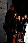 Lamar Odom and Khloe Kardashian at The Grand Opening for Philippe Chow Restaurant on Melrose Avenue in West Hollywood, California on 12 October 2009..Photo by Nina Prommer/Milestone Photo