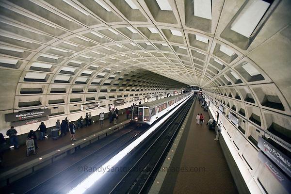 Metro Station Washington DC