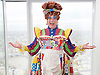 Dick Whittington <br /> publicity pictures <br /> taken from The View From The Shard, London Bridge Quarter, London, Great Britain <br /> press photocall <br /> 17th November 2016 <br /> <br /> <br /> Matthew Kelly as Sarah the Cook <br /> <br /> <br /> Photograph by Elliott Franks <br /> Image licensed to Elliott Franks Photography Services