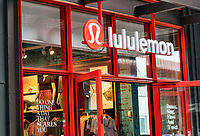 Lululemon Athletica store exterior, Ponce City Market, Atlanta, Georgia, USA.