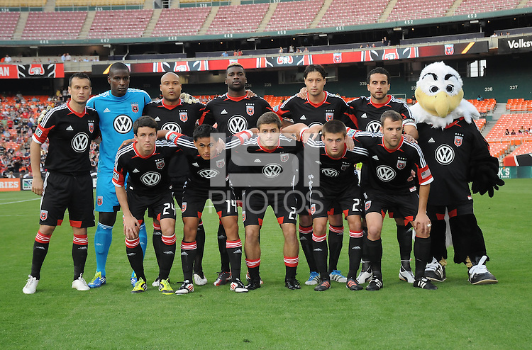 D.C. United Starting Eleven.  D.C. United defeated the Colorado Rapids 2-0 at RFK Stadium, Wednesday May 16, 2012.