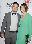 BEVERLY HILLS, CA- SEPTEMBER 13: TV personality Jack Osbourne (L) and wife Lisa Osbourne attend the Brent Shapiro Foundation for Alcohol and Drug Awareness' annual 'Summer Spectacular Under The Stars' at a private residence on September 13, 2014 in Beverly Hills, California.