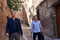 The Trip to Spain (2017) <br /> Steve Coogan &amp; Rob Brydon<br /> *Filmstill - Editorial Use Only*<br /> CAP/KFS<br /> Image supplied by Capital Pictures