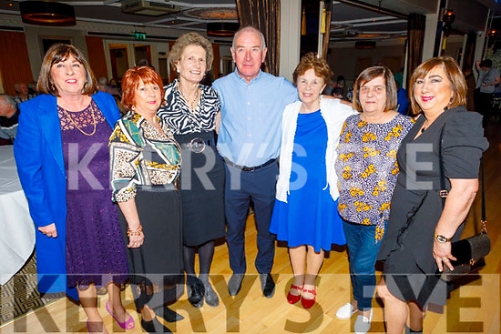 Bridie O'Sullivan (Causeway), Noreen O'Connor, Eileen McCarthy, Patsy O'Rourke (Ballyduff), Theresa Carey, Margie O'Rourke and Katie O'Leary dancing the night away in aid of Recovery Haven in the Ballygarry House Hotel on Monday.