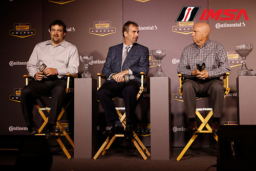 2018 Continental Tire SportsCar Challenge Awards, <br /> Jason Marks, Dean Martin, Ted Giovanis