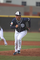Cesar Vargas - San Diego Padres 2016 spring training (Bill Mitchell)