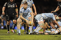 Millennium stadium, Ospreys v CardiffBlues RaboDirect PRO12 rugby Judgement Day, Saturday 30th March 2013. action during the Ospreys v CardiffBlues match. Mandatory credit for pictures used to-Jeff Thomas Photography-www.jaypics.photoshelter.com-07837 386244