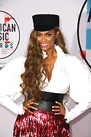 LOS ANGELES, CA - OCTOBER 09: Tyra Banks attends the 2018 American Music Awards at Microsoft Theater on October 9, 2018 in Los Angeles, California.  <br /> CAP/MPI/IS<br /> ©IS/MPI/Capital Pictures