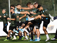 4th November 2019; Castelvolturno training center , Campania, Italy; UEFA Champions League Group Stage Football, Napoli versus Red Bull Salzburg, Napoli Training:Lorenzo Insigne of Naples - Editorial Use
