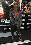 "HOLLYWOOD, CA. - August 06: Adewale Akinnuoye-Agbaje arrives at a special screening of ""G.I. Joe: The Rise Of The Cobra"" on August 6, 2009 in Hollywood, California."