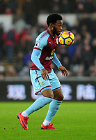 Burnley's Georges-Kevin Nkoudou<br /> <br /> Photographer Ashley Crowden/CameraSport<br /> <br /> The Premier League - Swansea City v Burnley - Saturday 10th February 2018 - Liberty Stadium - Swansea<br /> <br /> World Copyright &copy; 2018 CameraSport. All rights reserved. 43 Linden Ave. Countesthorpe. Leicester. England. LE8 5PG - Tel: +44 (0) 116 277 4147 - admin@camerasport.com - www.camerasport.com
