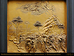 Moses Receiving the Ten Commandments Gates of Paradise Ghiberti Baptistry of San Giovanni Florence