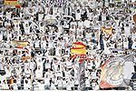 Real Madrid's supporters during La Liga match. February 13,2016. (ALTERPHOTOS/Acero)