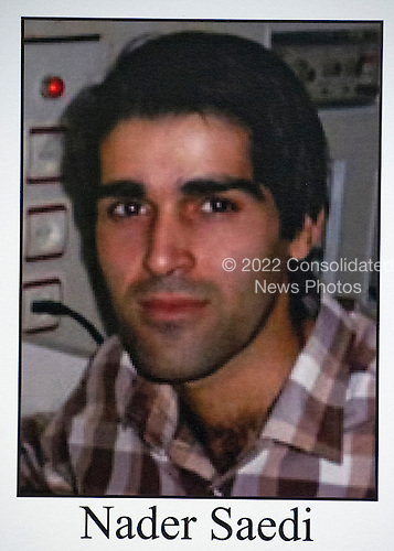 Mug shot of Nader Saedi, one of the cyber hackers employed by the Iranian government, who was named in criminal charges against him at a press conference conducted by United States Attorney General Loretta E. Lynch and US Attorney Preet Bharara of the Southern District of New York at the Department of Justice in Washington, DC on Thursday, March 24, 2016.  He was one of seven individuals charged with conducting cyber attacks against the US financial sector and the Bowman Dam in Rye, NY.<br /> Credit: FBI via CNP<br /> (RESTRICTION: NO New York or New Jersey Newspapers or newspapers within a 75 mile radius of New York City)