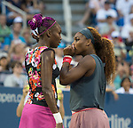 Venus and Serena Partner in Doubles