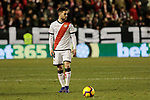 Rayo Vallecano's Diego Reyes during La Liga match between Rayo Vallecano and CD Leganes at Vallecas Stadium in Madrid, Spain. February 04, 2019. (ALTERPHOTOS/A. Perez Meca)