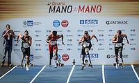 RIO DE JANEIRO, RJ, 05.06.2016 - ATLETISMO-RJ  - Atleta brasileiro Alan Fonteles, durante a prova paralímpica, categoria T44, pelo desafio Mano a Mano, na Quinta da Boa Vista, na manhã deste domingo, 05.    (Foto: Jayson Braga / Brazil Photo Press)