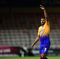 Mansfield Town's Malvind Benning<br /> <br /> Photographer Chris Vaughan/CameraSport<br /> <br /> The EFL Checkatrade Trophy Group H - Lincoln City v Mansfield Town - Tuesday September 4th 2018 - Sincil Bank - Lincoln<br />  <br /> World Copyright © 2018 CameraSport. All rights reserved. 43 Linden Ave. Countesthorpe. Leicester. England. LE8 5PG - Tel: +44 (0) 116 277 4147 - admin@camerasport.com - www.camerasport.com