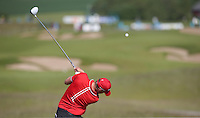 Sebastian Soderberg (SWE) drives down the 7th during Round Two of the 2015 Nordea Masters at the PGA Sweden National, Bara, Malmo, Sweden. 05/06/2015. Picture David Lloyd | www.golffile.ie