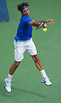 Roger Federer (SUI) Loses to Thomas Berdych (CZE)  at the Western and Southern Financial Group Masters Series in Cincinnati on August 19, 2011.  Fish won, 6-3, 6-4.