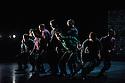 London, UK. 05.10. 2015. BalletBoyz present YOUNG MEN, at Sadler's Wells. The dancers are:   Andrea Carrucciu, Simone Donati, Flavien Esmieu, Marc Galvez, Oxana Panchenko, Edward Pearce, Leon Poulton, <br /> Harry Price, Matthew Rees, Matthew Sandiford, Bradley Waller, Jennifer White. Photograph &copy; Jane Hobson.