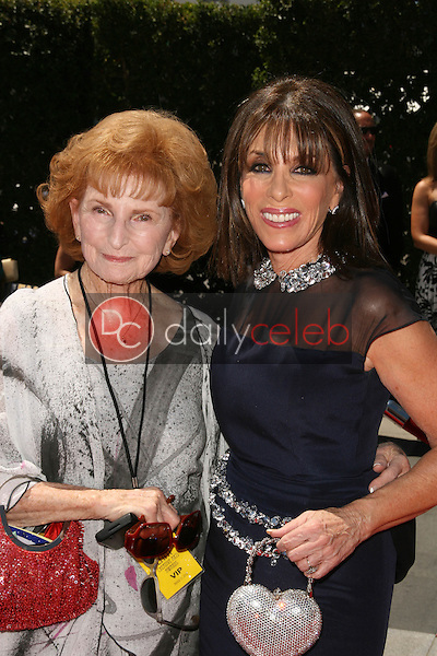 Kate Linder and mom<br /> at the 2010 Primetime Creative Arts Emmy Awards,  Nokia Theater L.A. Live, Los Angeles, CA. 08-21-10<br /> David Edwards/DailyCeleb.com 818-249-4998