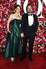 Michelle Federer and Norbert Leo Butz arrives at The 72nd Annual Tony Awards on June 10, 2018 at Radio City Music Hall in New York, New York, USA. <br /> <br /> photo by Robin Platzer/Twin Images<br />  <br /> phone number 212-935-0770