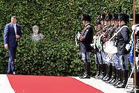 Roma, 4 Luglio 2014<br /> Si &egrave; tenuto a Villa Madama l'incontro tra il presidente del Consiglio dei Ministri, Matteo Renzi, e il presidente della Commissione Europea Jos&eacute; Manuel Dur&atilde;o Barroso. All&rsquo;incontro hanno partecipato i Ministri del Governo italiano e i Commissari europei.<br /> Nella foto Renzi in attesa di Barroso<br /> It was held at Villa Madama, the meeting between the President of the Council of Ministers, Matteo Renzi, and the President of the European Commission Jos&eacute; Manuel Dur&atilde;o Barroso. The meeting was attended by the Ministers of the Italian government and the European Commissioners.