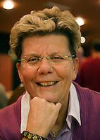 10-12-09, Rotterdam, Tennis, REAAL Tennis Masters 2009, Persbijeenkomst KNLTB, Annemiek de Jong