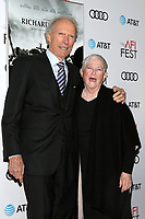 LOS ANGELES - NOV 20:  Clint Eastwood, Bobi Jewell at the AFI Gala - Richard Jewell Premiere at TCL Chinese Theater IMAX on November 20, 2019 in Los Angeles, CA