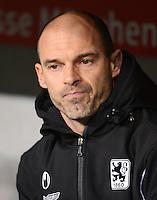 Fussball 2. Bundesliga:  Saison   2012/2013,    16. Spieltag  TSV 1860 Muenchen - SC Paderborn  27.11.2012 Trainer Alexander Schmidt (1860 Muenchen)