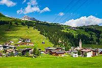Austria, Vorarlberg, Lech: popular ski- and hiking region at Lechtaler Alps | Oesterreich, Vorarlberg, Lech: beliebte Wander- und Skiregion in den Lechtaler Alpen
