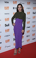 """TORONTO, ONTARIO - SEPTEMBER 08: Lindsay Sloane attends """"Endings, Beginnings"""" premiere during the 2019 Toronto International Film Festival at Ryerson Theatre on September 08, 2019 in Toronto, Canada. <br /> CAP/MPI/IS/PICJER<br /> ©PICJER/IS/MPI/Capital Pictures"""