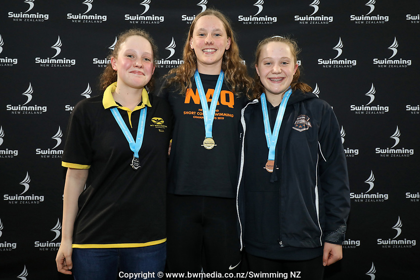 New Zealand Short Course Swimming Championships, National Aquatic Centre, Auckland, New Zealand, Saturday 5th October 2019. Photo: Simon Watts/www.bwmedia.co.nz/SwimmingNZ
