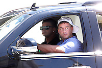 Pauly D and The Situation pictured driving during filming of The Jersey Shore Show season six in Seaside Heights, New Jersey on June 27, 2012  © Star Shooter / MediaPunchInc /*NORTEPHOTO.COM*<br />