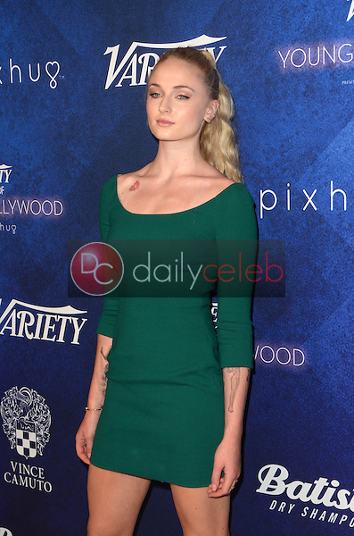 Sophie Turner<br /> at the Variety Power of Young Hollywood Event, Neuehouse, Hollywood, CA 08-16-16<br /> David Edwards/DailyCeleb.com 818-249-4998