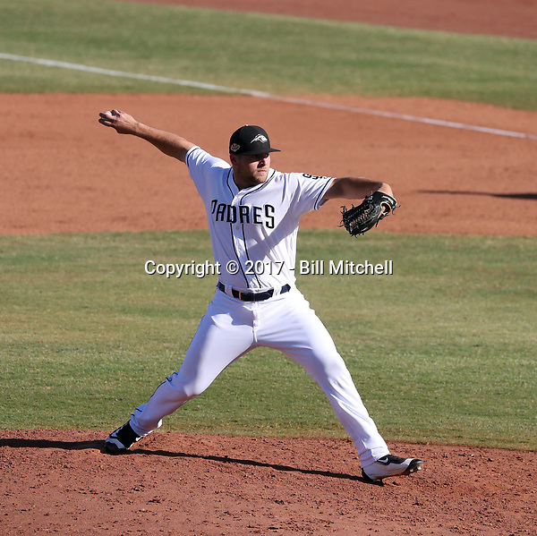 David Bodnar - Peoria Javelinas - 2017 Arizona Fall League (Bill Mitchell)