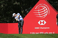 Matthew Fitzpatrick (ENG) on the 11th tee during round 1 at the WGC HSBC Champions, Sheshan Golf Club, Shanghai, China. 31/10/2019.<br /> Picture Fran Caffrey / Golffile.ie<br /> <br /> All photo usage must carry mandatory copyright credit (© Golffile | Fran Caffrey)
