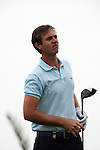Nicolas Colsaerts teeing off on the third tee on day one of the Abu Dhabi HSBC Golf Championship 2011, at the Abu Dhabi golf club 20/1/11..Picture Fran Caffrey/www.golffile.ie.