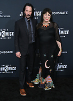 "15 May 2019 - Hollywood, California - Keanu Reeves, Angelica Houston. ""John Wick: Chapter 3 - Parabellum"" Special Screening Los Angeles held at the TCL Chinese Theatre. Photo Credit: Birdie Thompson/AdMedia"