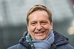 10.02.2018, HDI Arena, Hannover, GER, 1.FBL, Hannover 96 vs SC Freiburg<br /> <br /> im Bild<br /> Horst Heldt (Sportdirektor / Manager Sport Hannover 96), <br /> <br /> Foto &copy; nordphoto / Ewert